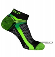 SKARPETY MULTISPORT 01 BLACK/GREEN