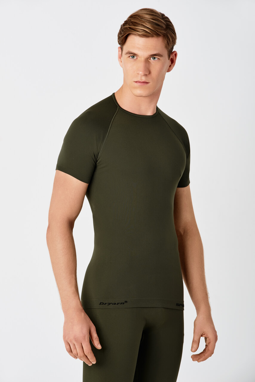 T-SHIRT SURVIVAL KHAKI