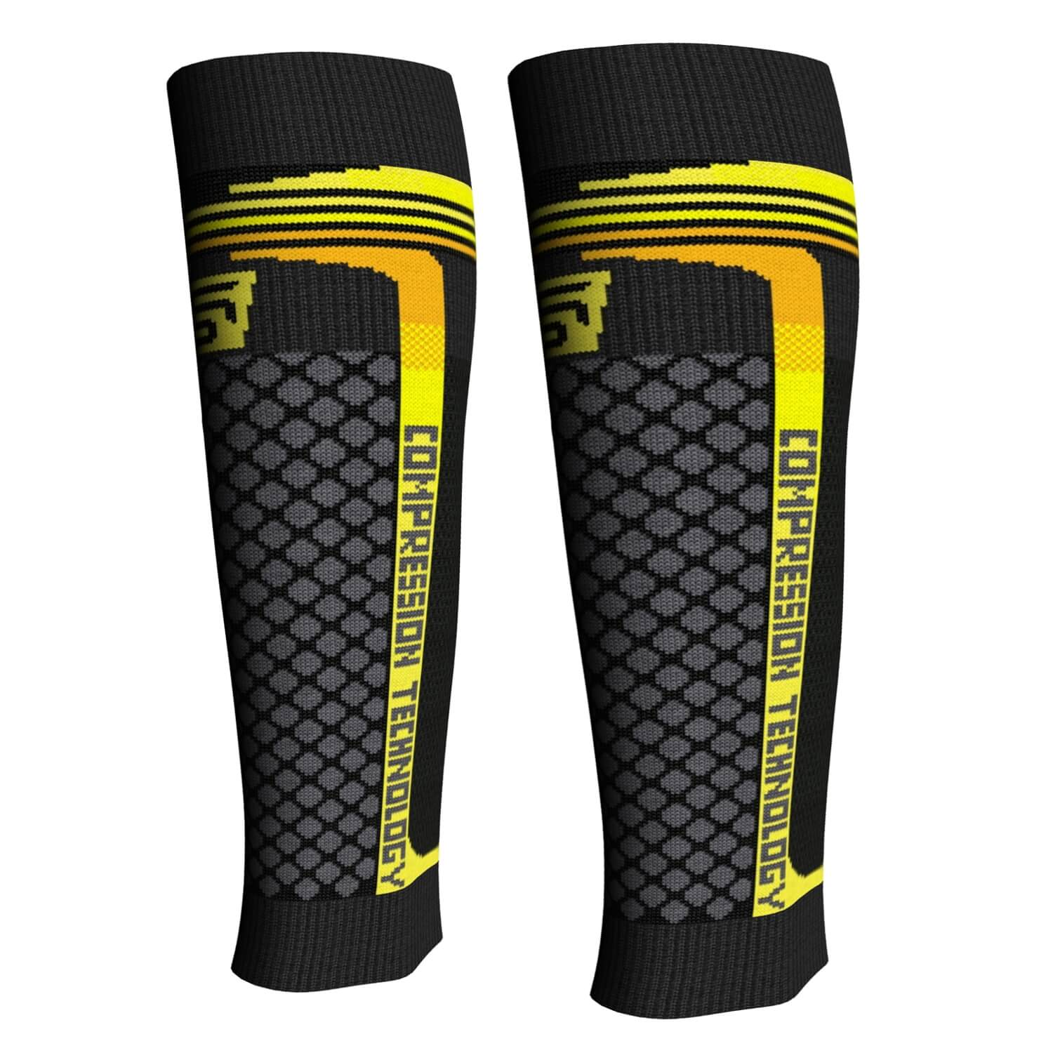 ZESTAW OPASEK KOMPRESYJNYCH SPEED SUPPORT ELITE BLACK/YELLOW